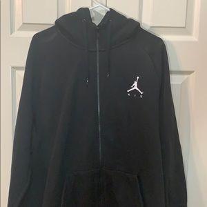 Men's 2XL Jordan sweatsuit. Hoodie zipper jacket.